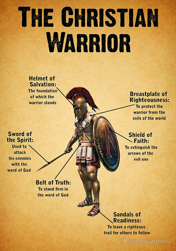 Put on the whole armor of God - Virtue House Ministries